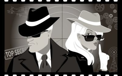 Secret agents (iStock illustration)