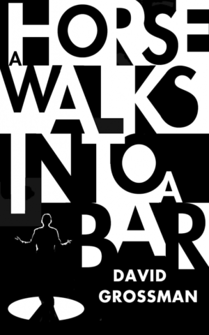 The cover of David Grossman's latest novel, 'A Horse Walks Into a Bar' (Courtesy Random House)