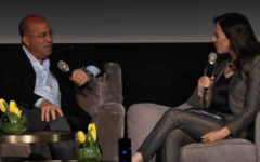 CNN's Jeff Zucker interviewed by Channel 2's Yonit Levy at the INTV conference in Jerusalem on March 7, 2017. (Screen capture: Youtube)
