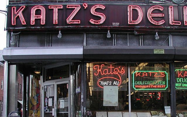 Katz's Delicatessen has been a staple on the Lower East Side of Manhattan since the late 19th century. (Courtesy)