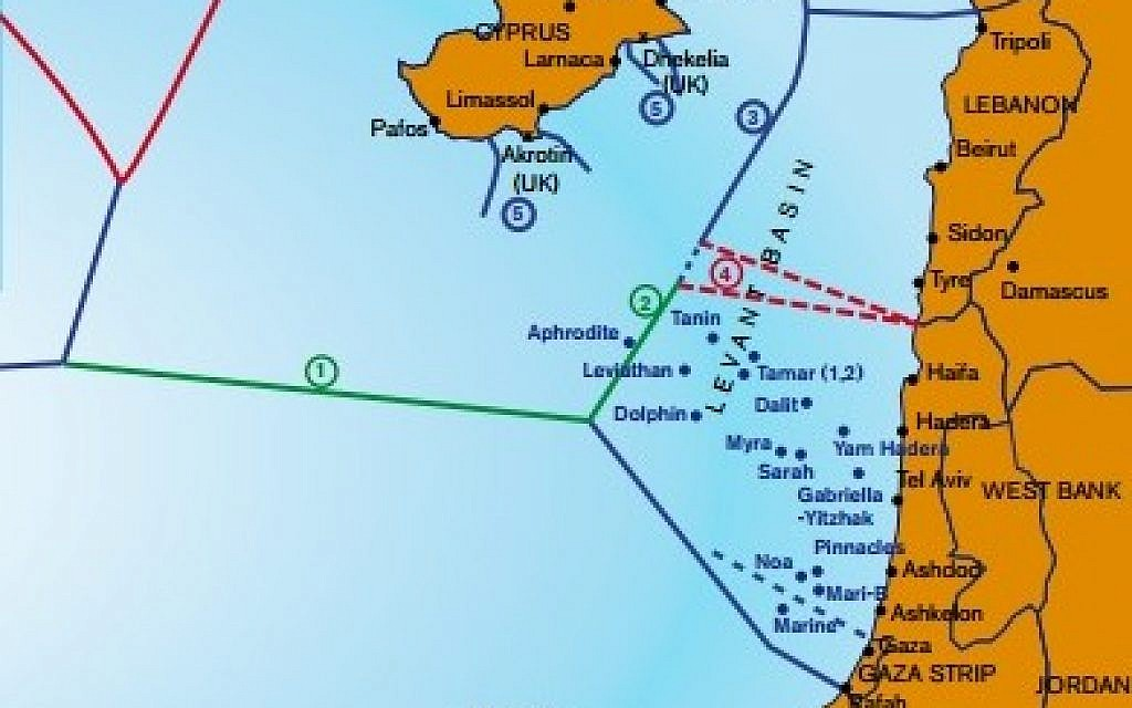 Lebanon 'ready' to demarcate maritime border with Israel under UN supervision