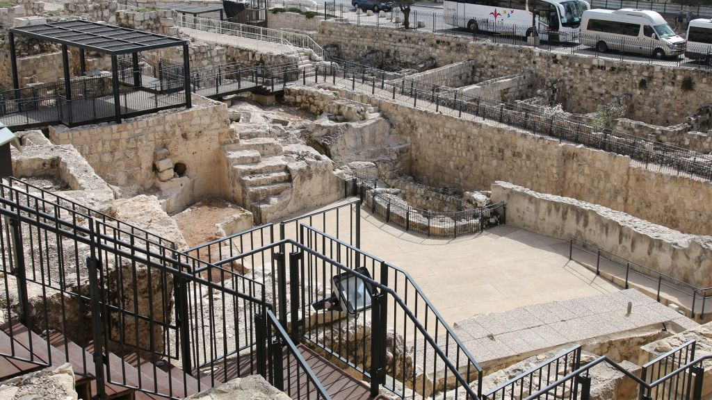 The beginning of the recently opened Mikveh Trail in Jerusalem. (Shmuel Bar-Am)