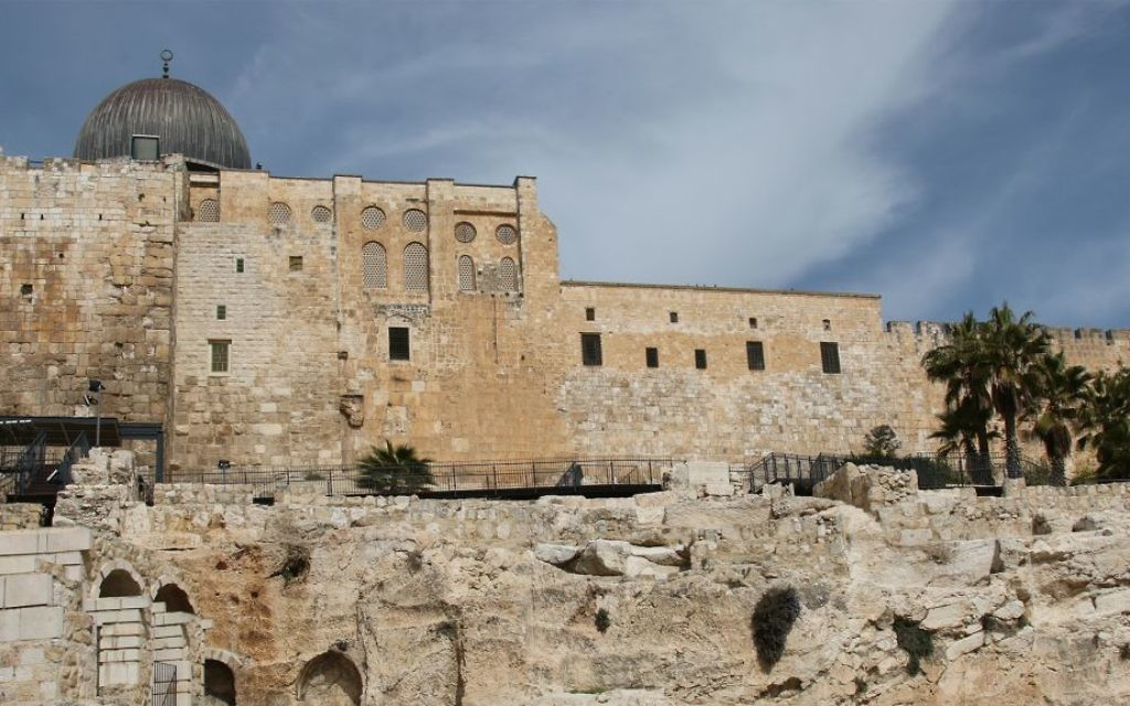 Most of Jerusalem's historical mikvehs are found near the Temple Mount's southern wall. (Shmuel Bar-Am)