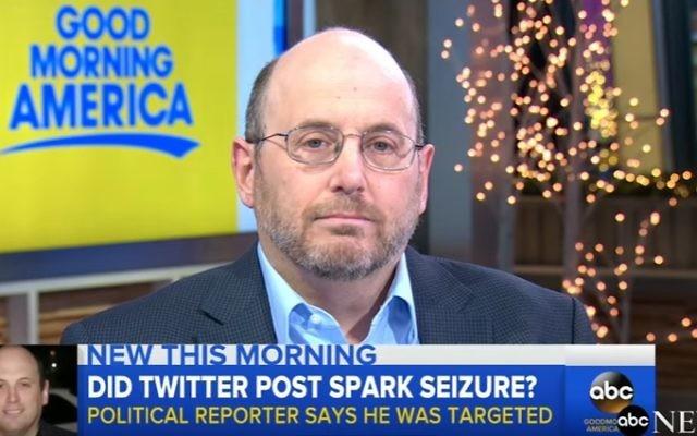 Newsweek reporter Kurt Eichenwald (YouTube screenshot)