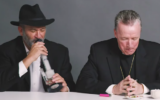 A rabbi, a priest and an atheist smoke marijuana. (Screen capture: Facebook)