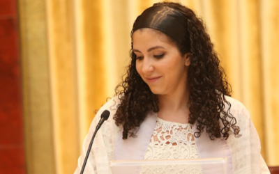 Rabbi Fernanda Tomchinsky-Galanternik (Courtesy of Congregation Israel Paulita via JTA)