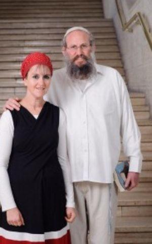Yehuda and Raheli Livman (Courtesy Chaim Meiersdorf/Matnat Haim)