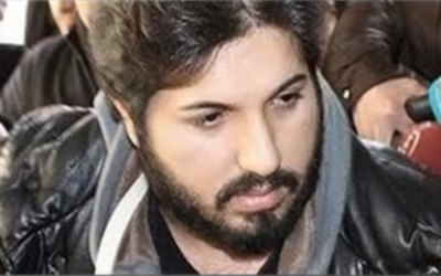 Reza Zarrab, the Turkish-Iranian gold trader accused of violating US sanctions on Iran, seen in Istanbul in 2015. (Screen capture/YouTube)