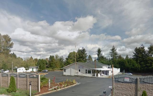 A gurdwara, a Sikh house of prayer, in Kent, Washington (screen capture: Google Street View)