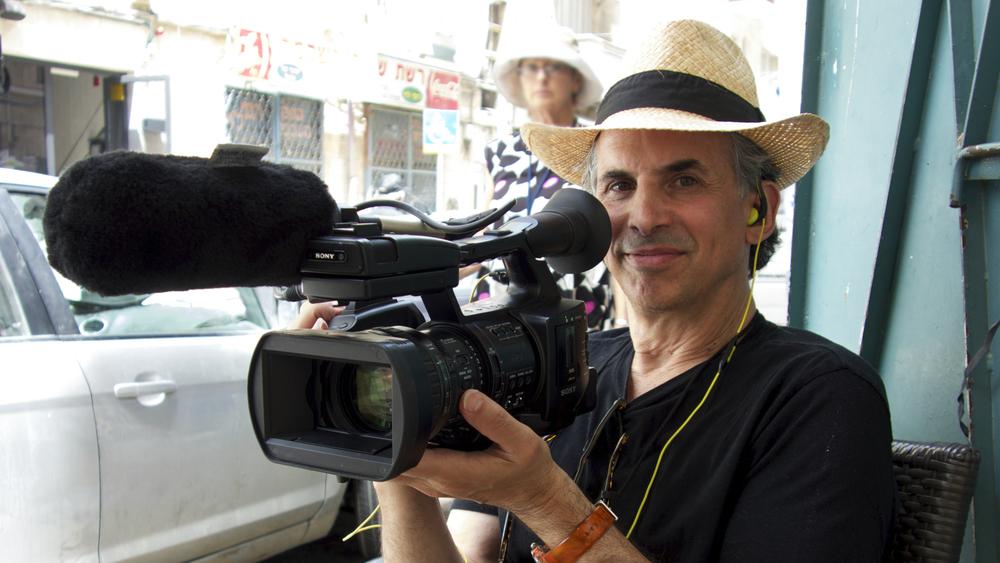 """In Search of Israeli Cuisine"" filmmaker Roger Sherman. (Florentine Films)"
