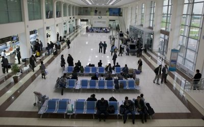The terminal at Tashkent International Airport. (Uzbekistan Airways)
