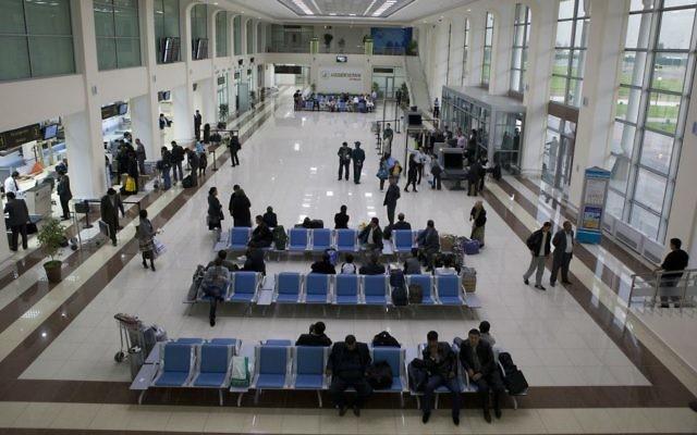 The terminal at Tashkent International Airport. (Uzbekistan Airways)