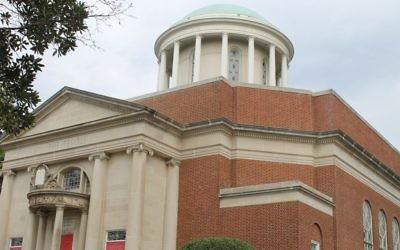 The Temple in Atlanta is a hub of social activism. (Ben Sales/JTA)