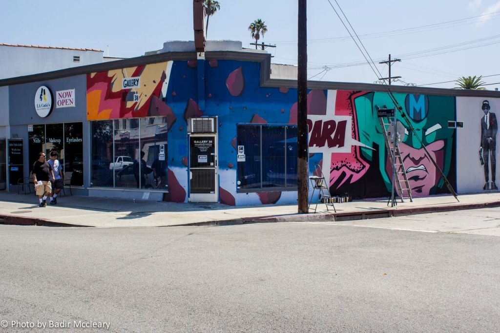 Gallery 38 in Los Angeles, co-founded by Erez Safar. (Courtesy)