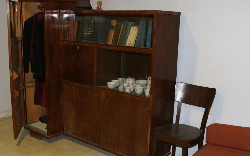 Stern's room in Tel Aviv, where he was killed by British security forces. (Shmuel Bar-Am)