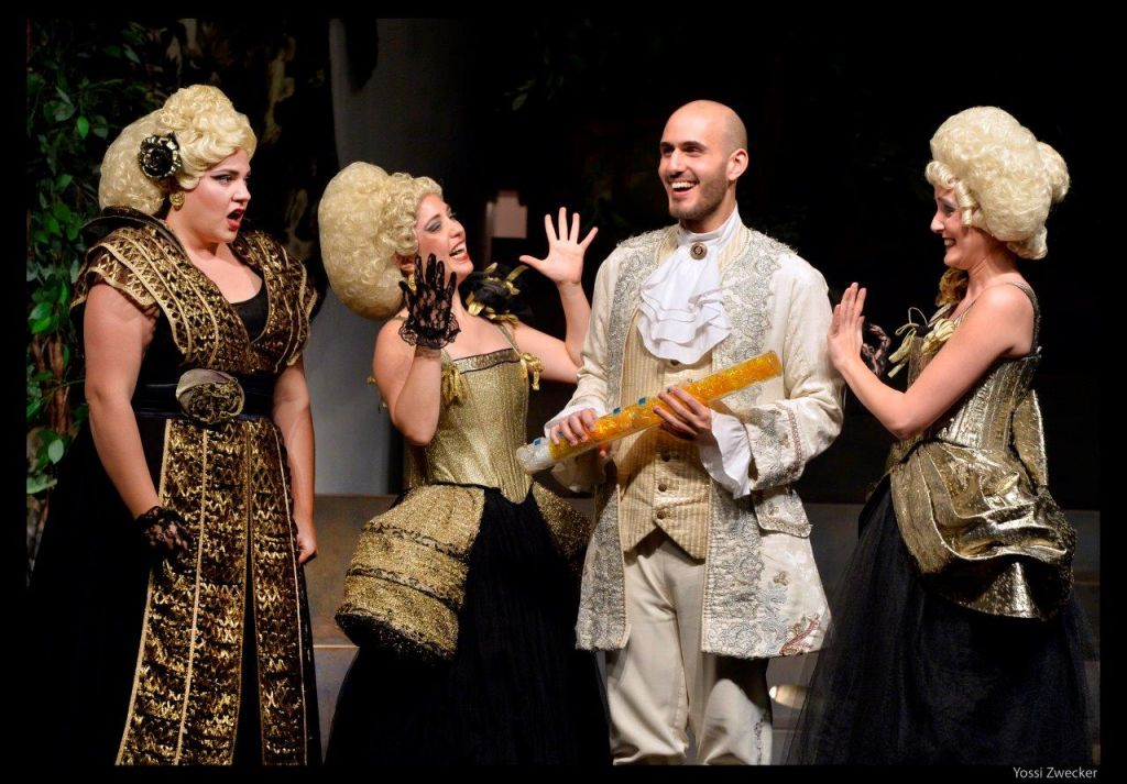 Introducing opera to kids with 'The Magic Flute' and the Israeli Opera (Courtesy Yossi Tzivker)