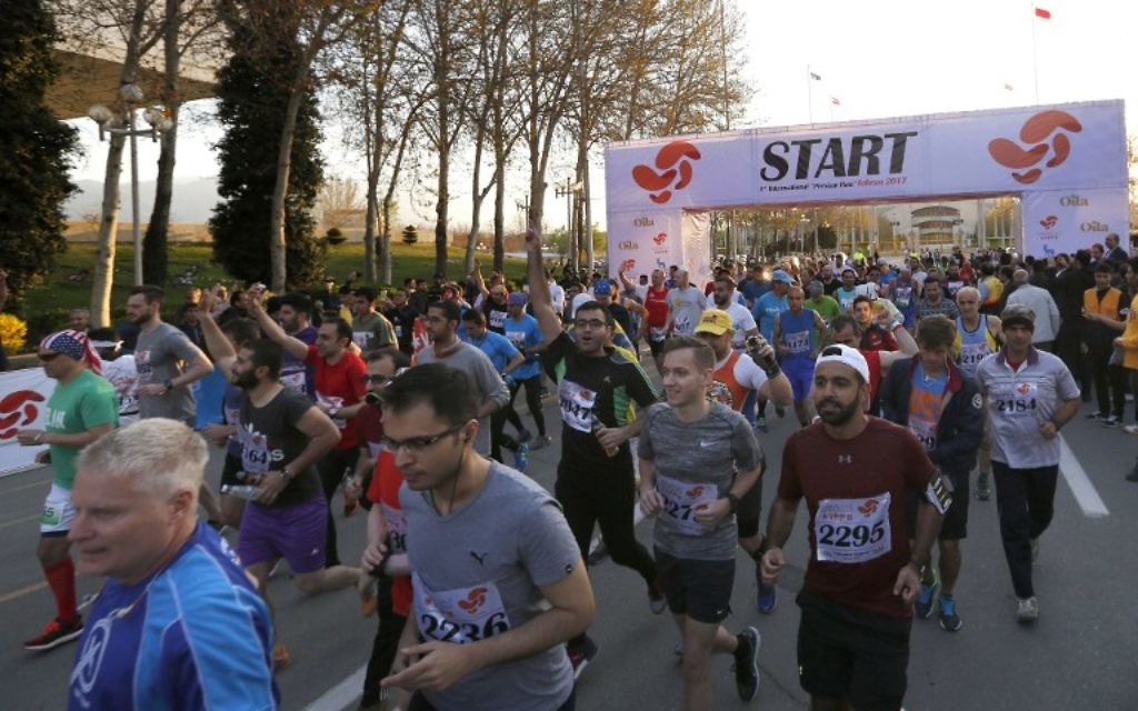 No women allowed to run in Iran's first marathon