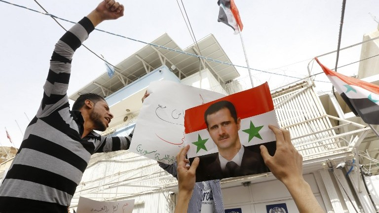 Iranian Diplomat Meets Syria's Assad in Damascus