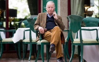 AfD party executive member Alexander Gauland at the Maritim Hotel in Cologne on April 21, 2017. (AFP Photo/dpa/Rolf Vennenbernd)