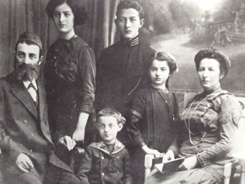 The Buchholz family, circa 1910. (Courtesy)