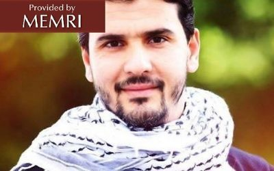 'Reaching Jerusalem' board game designer Muhammad Ramadan Al-Amriti. (MEMRI)