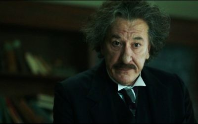 Geoffrey Rush staring in National Geographic's new biopic mini-series 'Genius,' which charts the life of Albert Einstein. (Screen capture: You Tube)