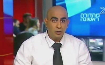 Screen capture from video of attorney Barak Cohen. (YouTube/Eran Vered)