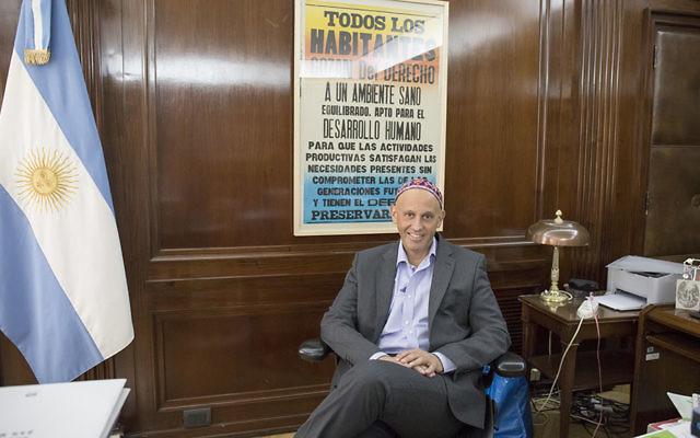 Rabino: Sergio Bergman assume o comando dos judeus progressistas