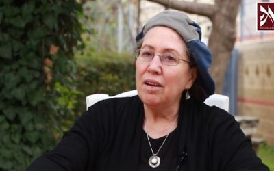 Rabbanit Chana Henkin, founder and dean of Nishmat institute for women, 2014. (Screen capture: YouTube)