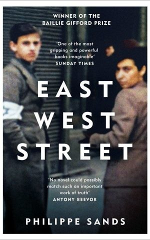 Cover of 'East West Street' by Philippe Sands. (Courtesy)