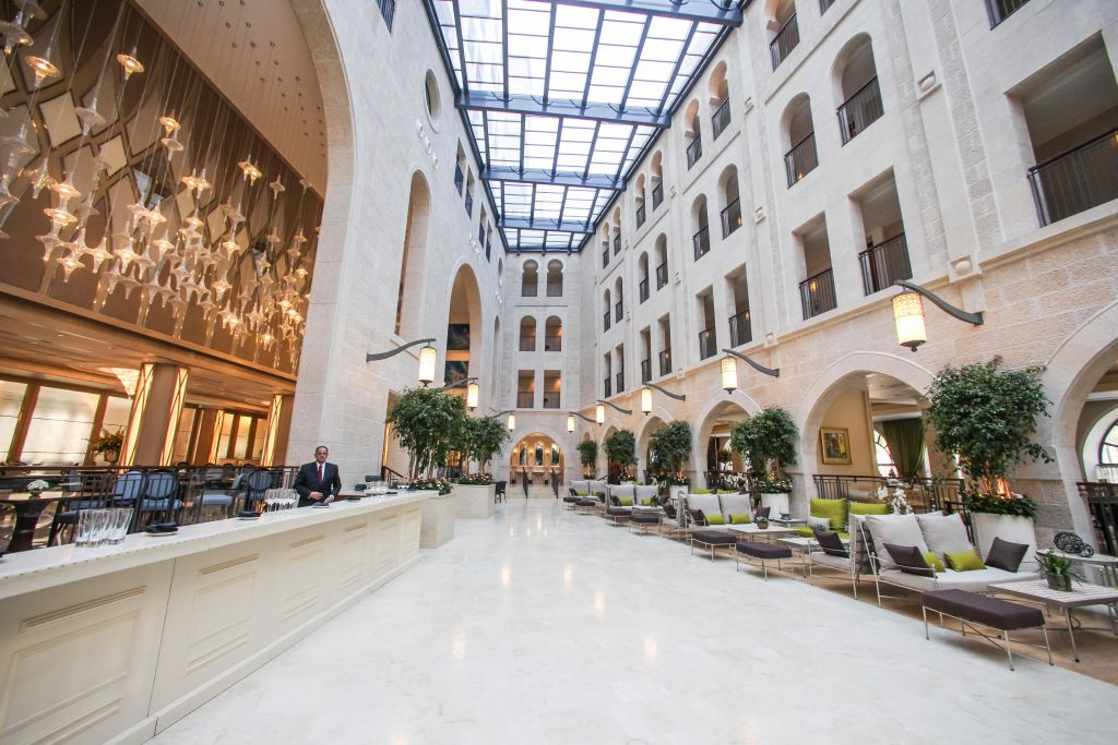 The Waldorf Astoria hotel in Jerusalem (Flash 90)