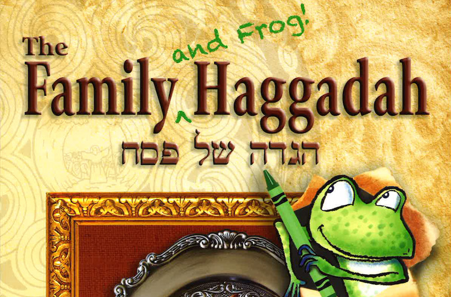 'The Family and Frog Haggadah' (Behrman House/via JTA)