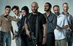 The cast of Israeli drama series 'Fauda' (Ohad Romano via JTA)
