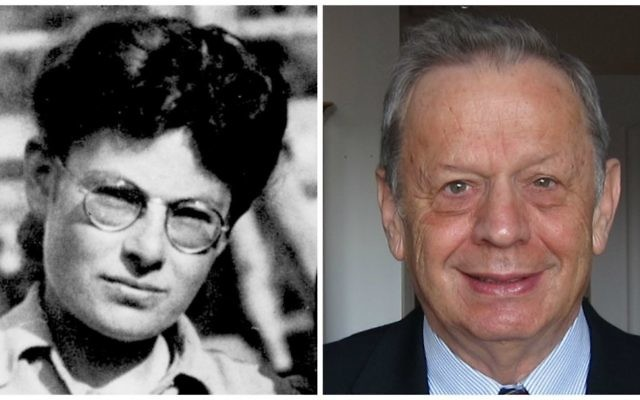 Marianne Cohn (left) is one of many Jews who saved Jewish lives during the Holocaust, and whom Mordecai Paldiel (right) would like to see honored for their heroism. (Photo of Cohn public domain/Paldiel courtesy)
