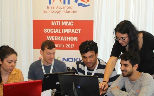 IATI's Social Impact Weekathon - participants in the Eat Smarter group (IATI)