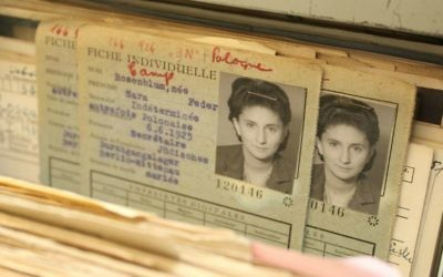 "DP card. In a policy paper drafted on 18 November 1944, the Allies coined the term ""Displaced Persons,"" prescribed how the survivors of Nazi terror were to be treated, cared for, and returned to their countries of origin. (ITS)"