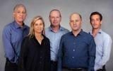 Israel Secondary Fund management team from left to right: Shmuel Shilo, Founding Partner; Dana Ben Yosef, CFO; Dror Glass, Founding Managing Partner; Nir Linchevski, Managing Partner; Josh Scher, Associate (Courtesy)