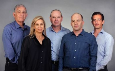 Israel Secondary Fund management team from left to right: Shmuel Shilo, Founding Partner; Dana Ben Yosef, CFO; Dror Glass, Founding Managing Partner; Nir Linchevski, Managing Partner; Josh Scher, Associate (Courtesy)