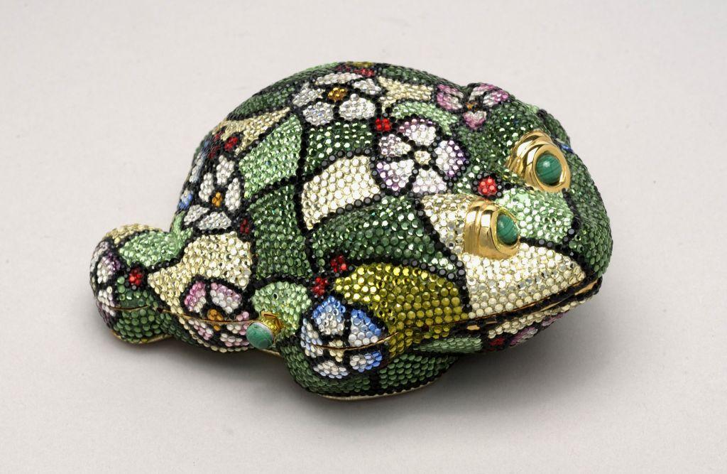 A Judith Leiber toad handbag. (Courtesy)