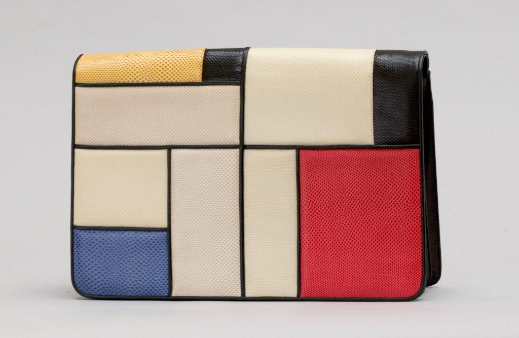 A Judith Leiber Mondrian handbag. (Courtesy)