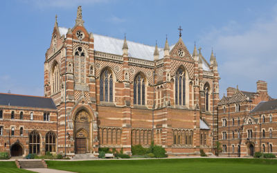 Illustrative photo of Keble College, one of the constituent colleges of the University of Oxford (Wikimedia Commons via JTA)