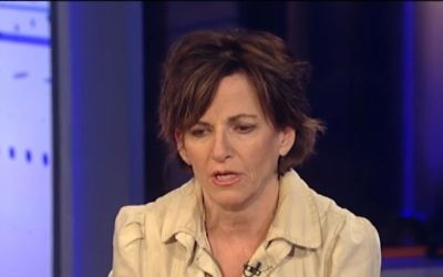 Screen capture from video of the The New York Times Public Editor Liz Spayd. (YouTube/Fox News)