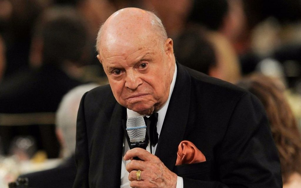 legendary jewish comedian don rickles dies at age 90 the times of israel. Black Bedroom Furniture Sets. Home Design Ideas