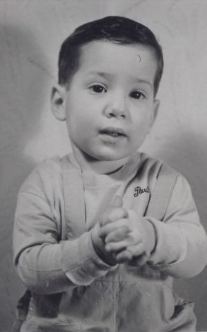 Paul Simon as a baby in 1943. (Courtesy)
