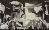 The mural-sized oil painting on canvas Guernica by Spanish artist Pablo Picasso completed in June 1937. (Wikimedia commons)