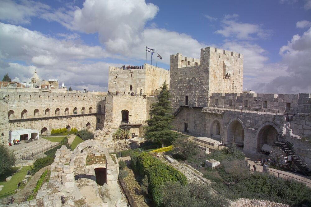 The Tower of David. (Courtesy Tower of David Museum)