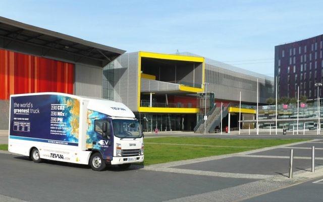 One of Tevva Motors' trucks (Courtesy)