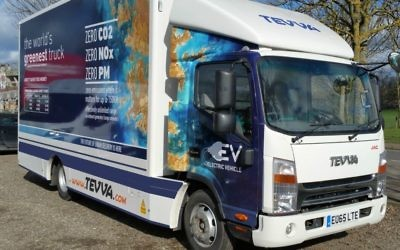 Tevva Motors' electric truck (Courtesy)