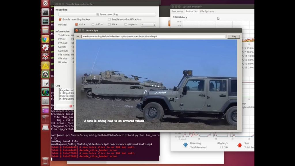 IDF tech uses AI to watch and describe objects in video