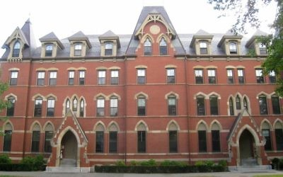 West Hall at Tufts University. (Wikimedia Commons)